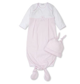 Kissy Kissy Bunny Hugs Sack & Hat Set - Pink