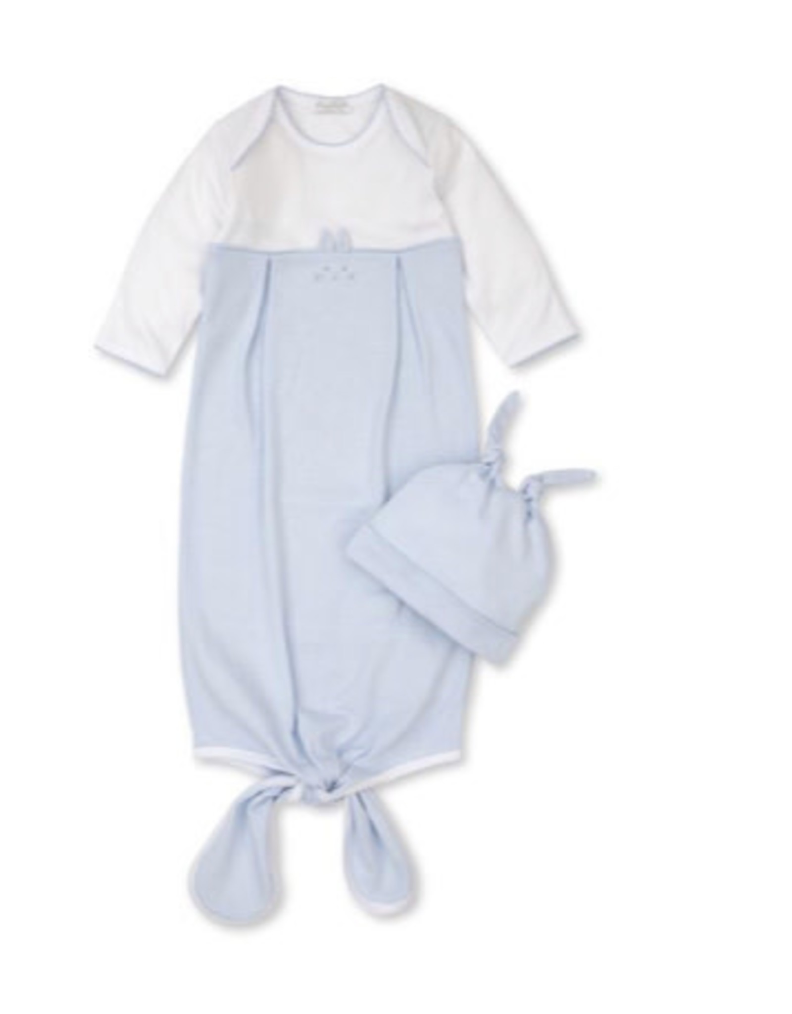 Kissy Kissy Bunny Hugs Sack & Hat Set - Blue