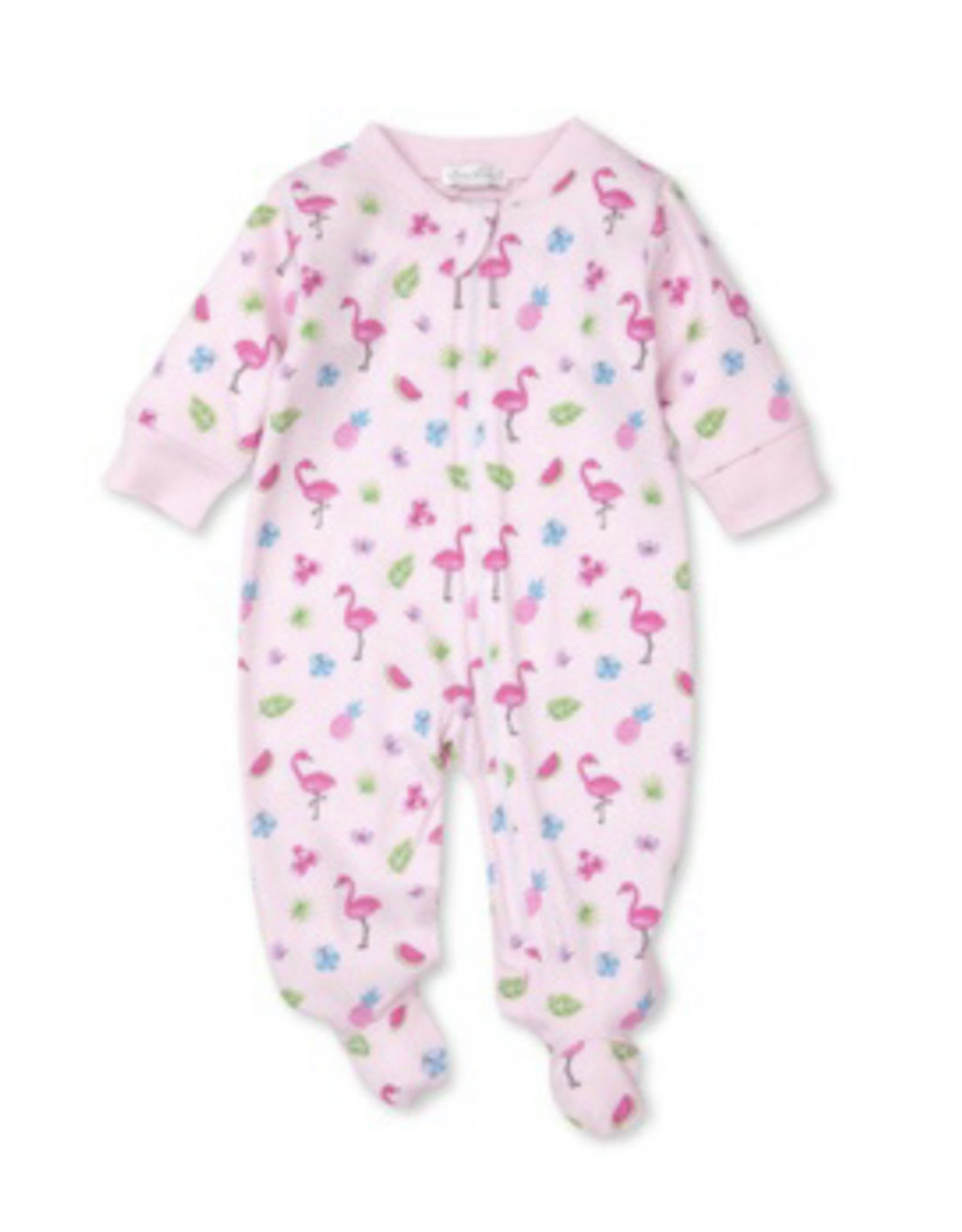 Kissy Kissy Aloha Footie  w/Zipper
