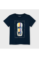 Mayoral Short Sleeve Car T-Shirt