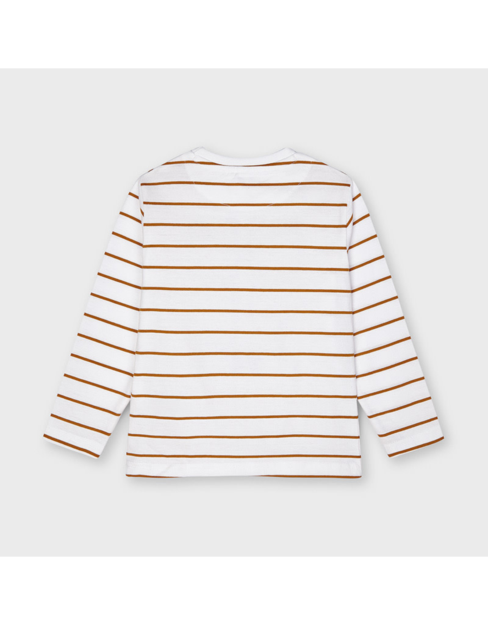 Mayoral Long Sleeve Striped T-Shirt