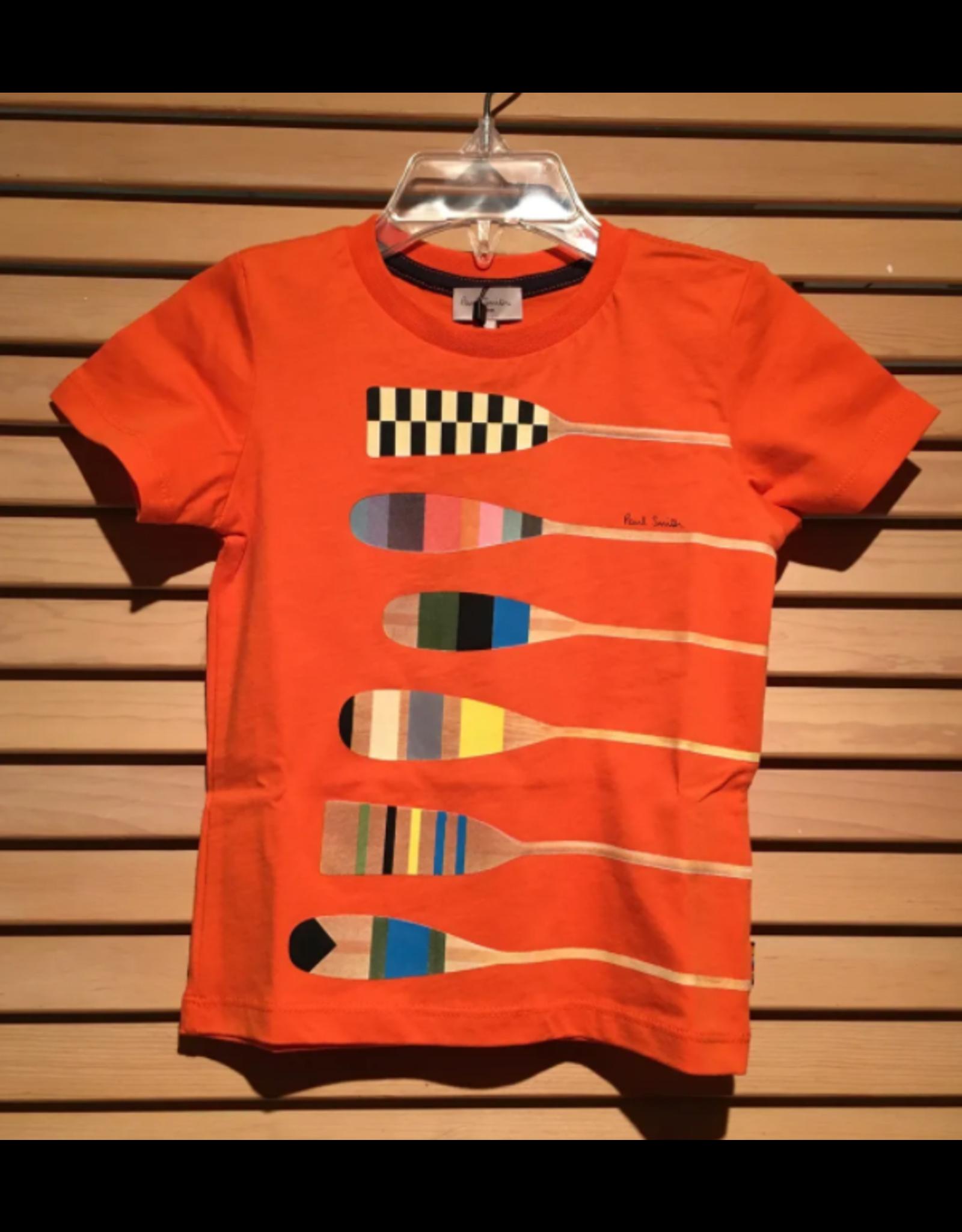 Paul Smith Orange Paddle Shirt
