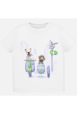 Mayoral Motorcycle Dog T-Shirt
