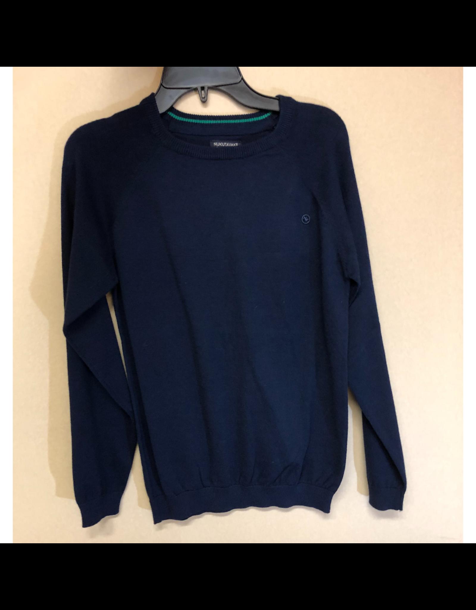 Nukutavake Marino Blue Sweater