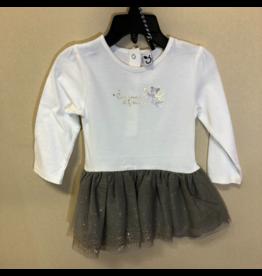 3 Pommes Dress in Tulle Sequin Skirt