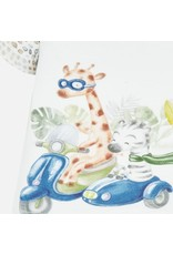 Mayoral Zebra/Giraffe 4 Piece Short Set