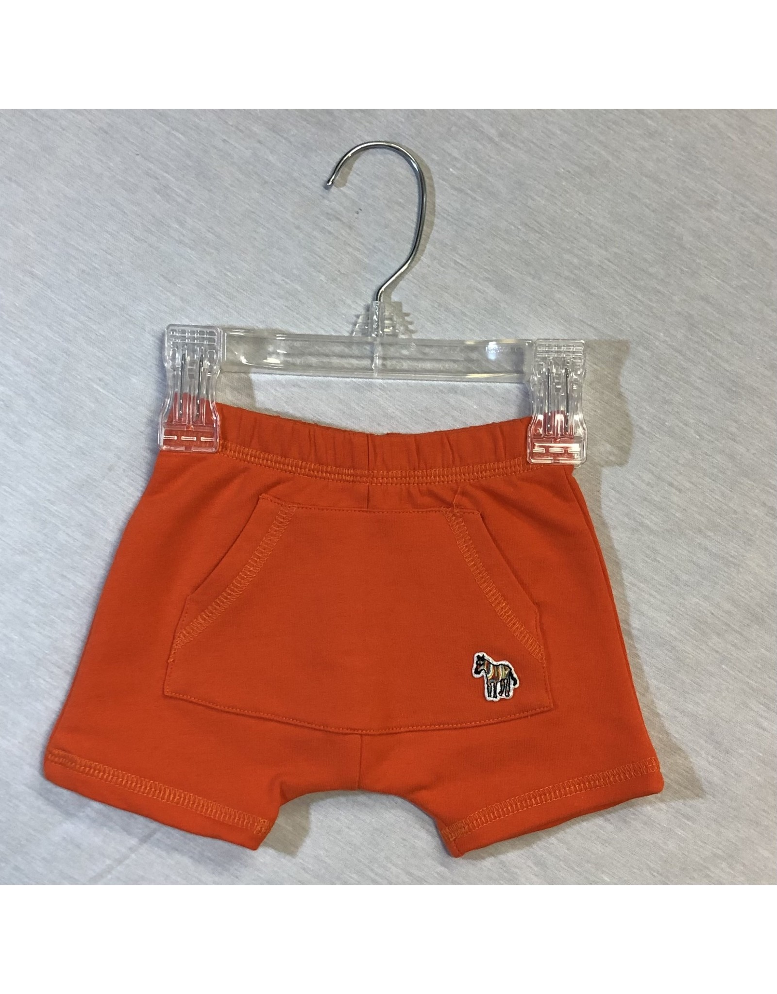 Paul Smith Orange Shorts with Zebra