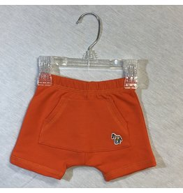Paul Smith Orange Shorts with Zebra (3M/6M)