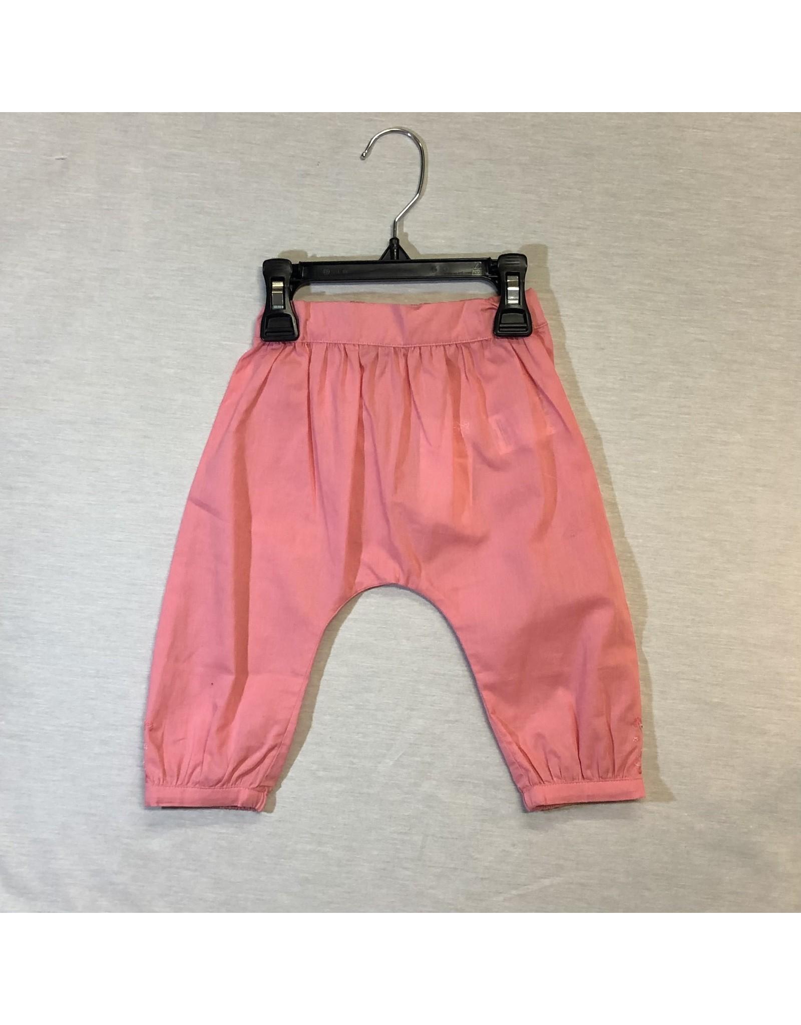 Tartine Et Chocolat Pink Pants with Flower Detail