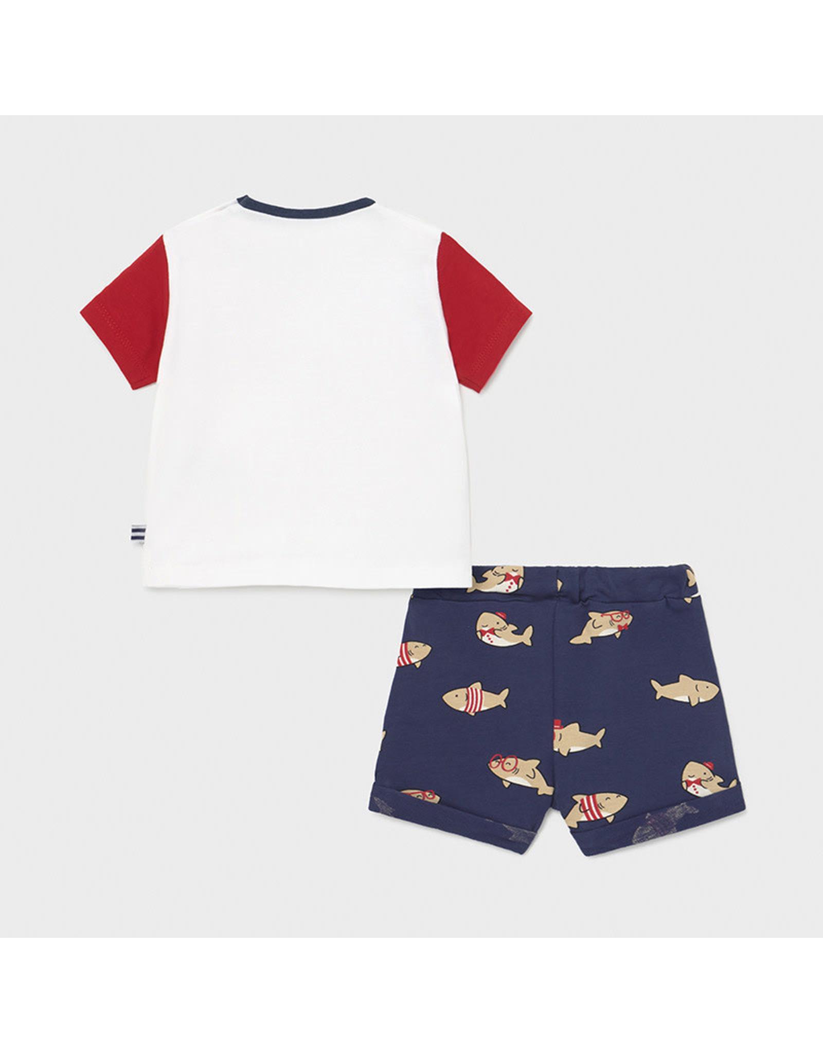 Mayoral Set with shorts