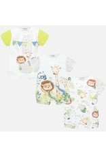 Mayoral Jungle Print Onesie - Set of 3