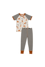 Deux Par Deux Two Pieces Pajama Set - Lemur