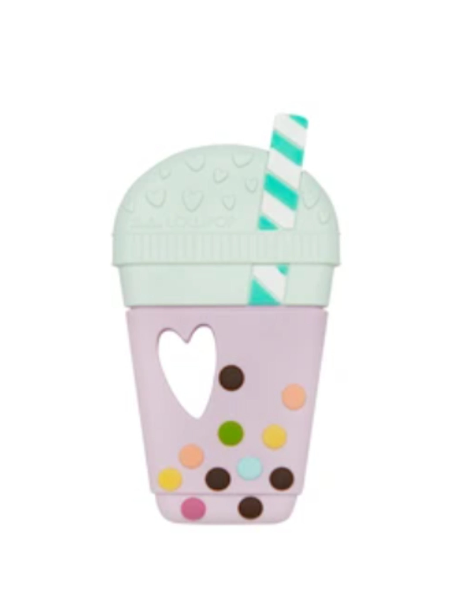 Loulou Lollipop Bubble Tea Silicone Teether