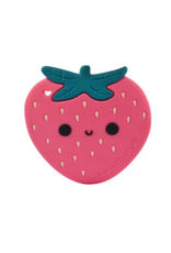 Loulou Lollipop Strawberry Silicone Teether