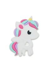 Loulou Lollipop Rainbow Unicorn Silicone Teether