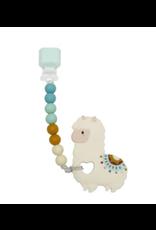 Loulou Lollipop Llama Silicone Teether Set