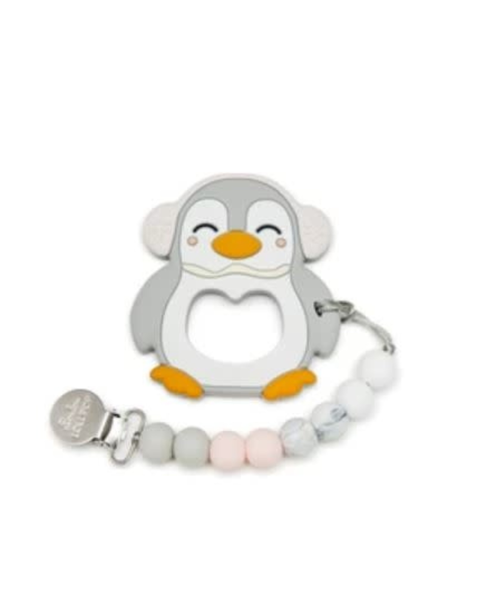 Loulou Lollipop Penguin Teether Set