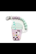 Loulou Lollipop Taro Bubble Tea Teether Set