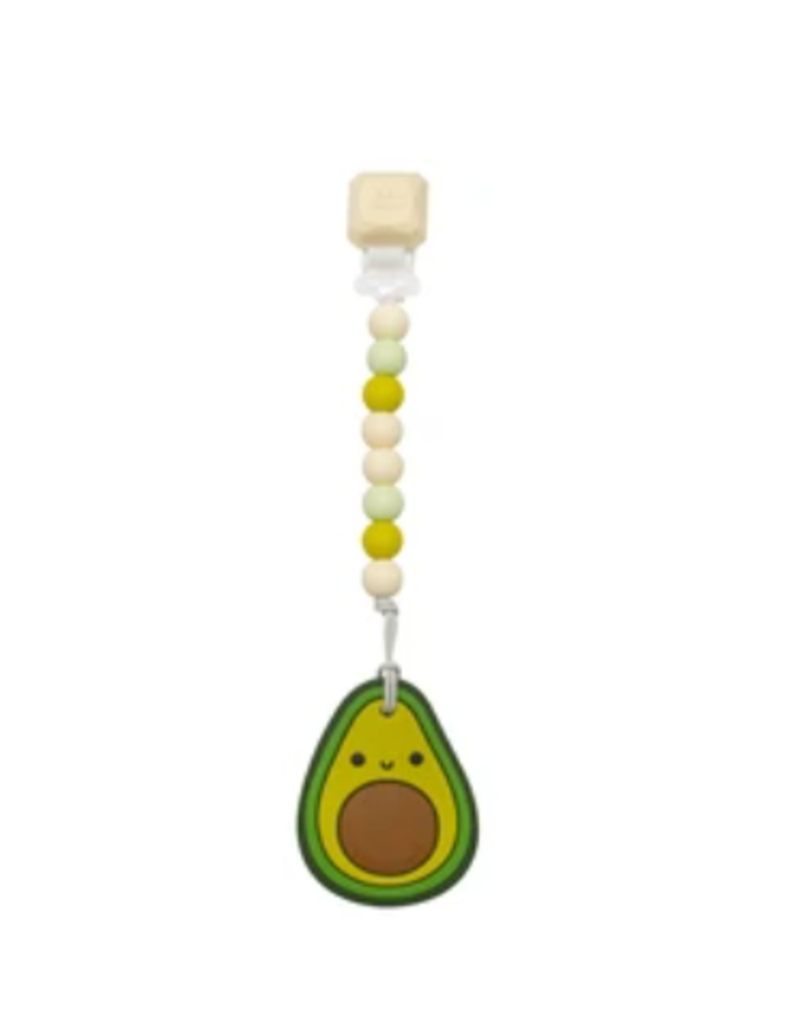 Loulou Lollipop Avocado Teether Set