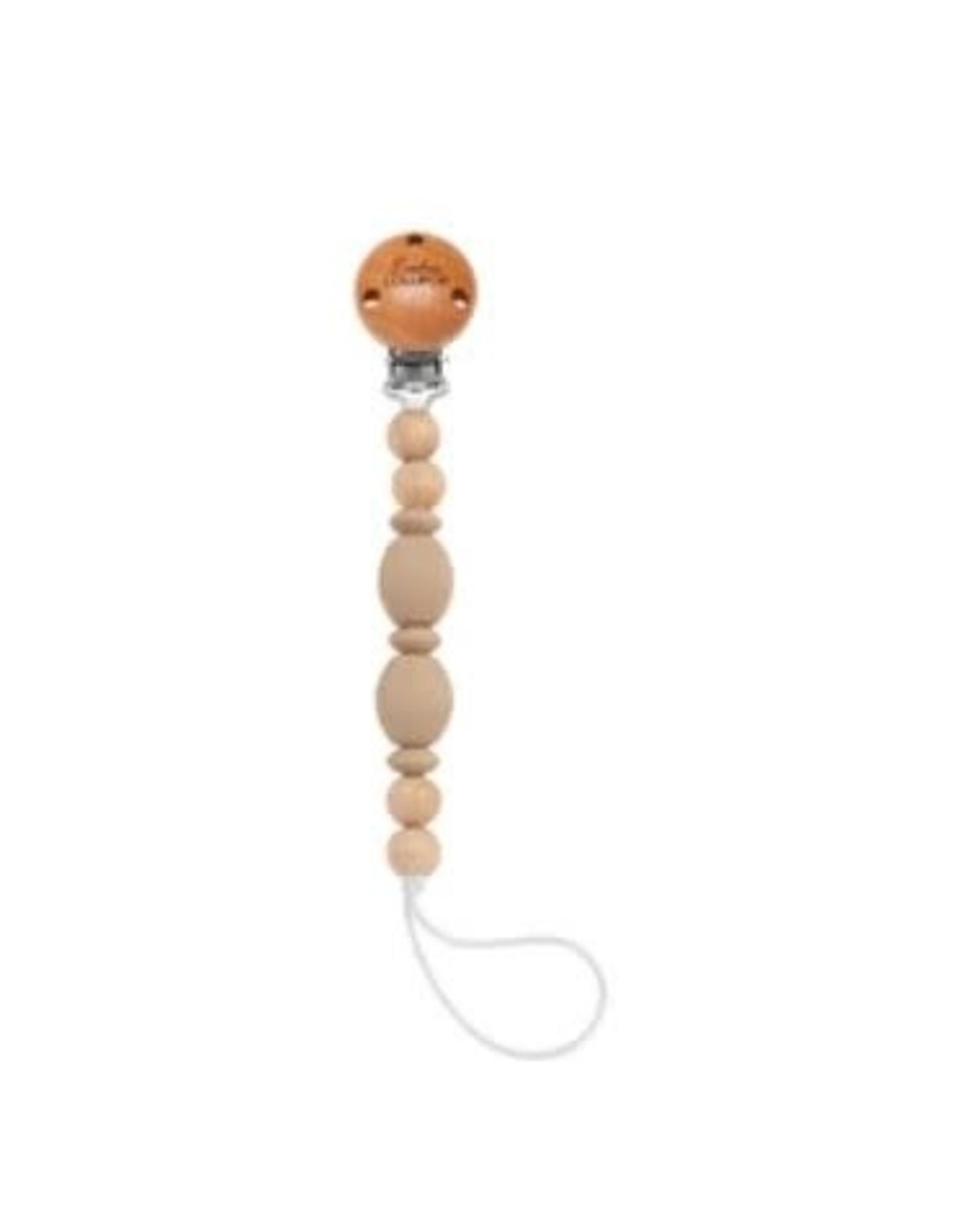 Loulou Lollipop Pacifier Clip - Soleil Clay