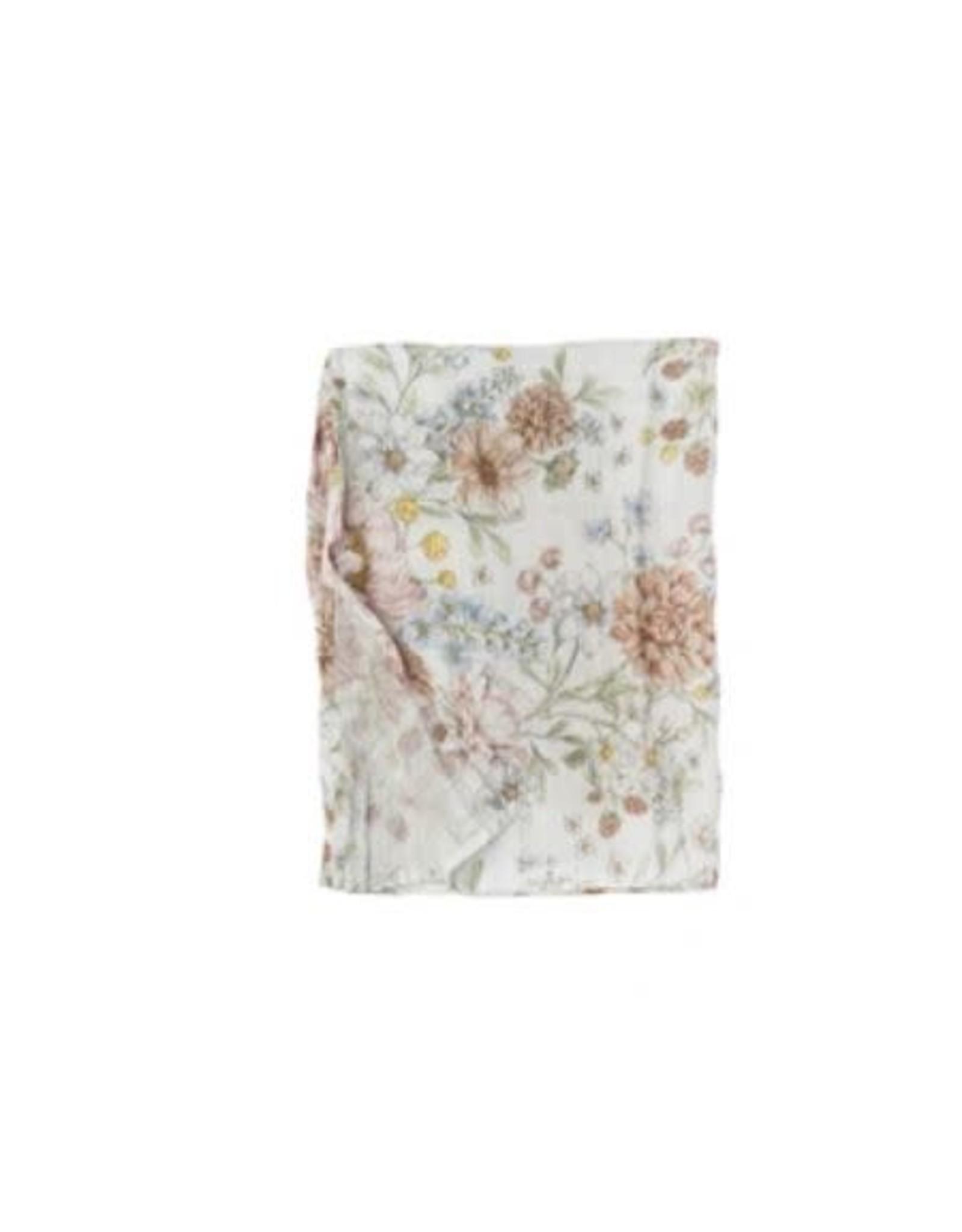 Loulou Lollipop Swaddle Blanket - Secret Garden