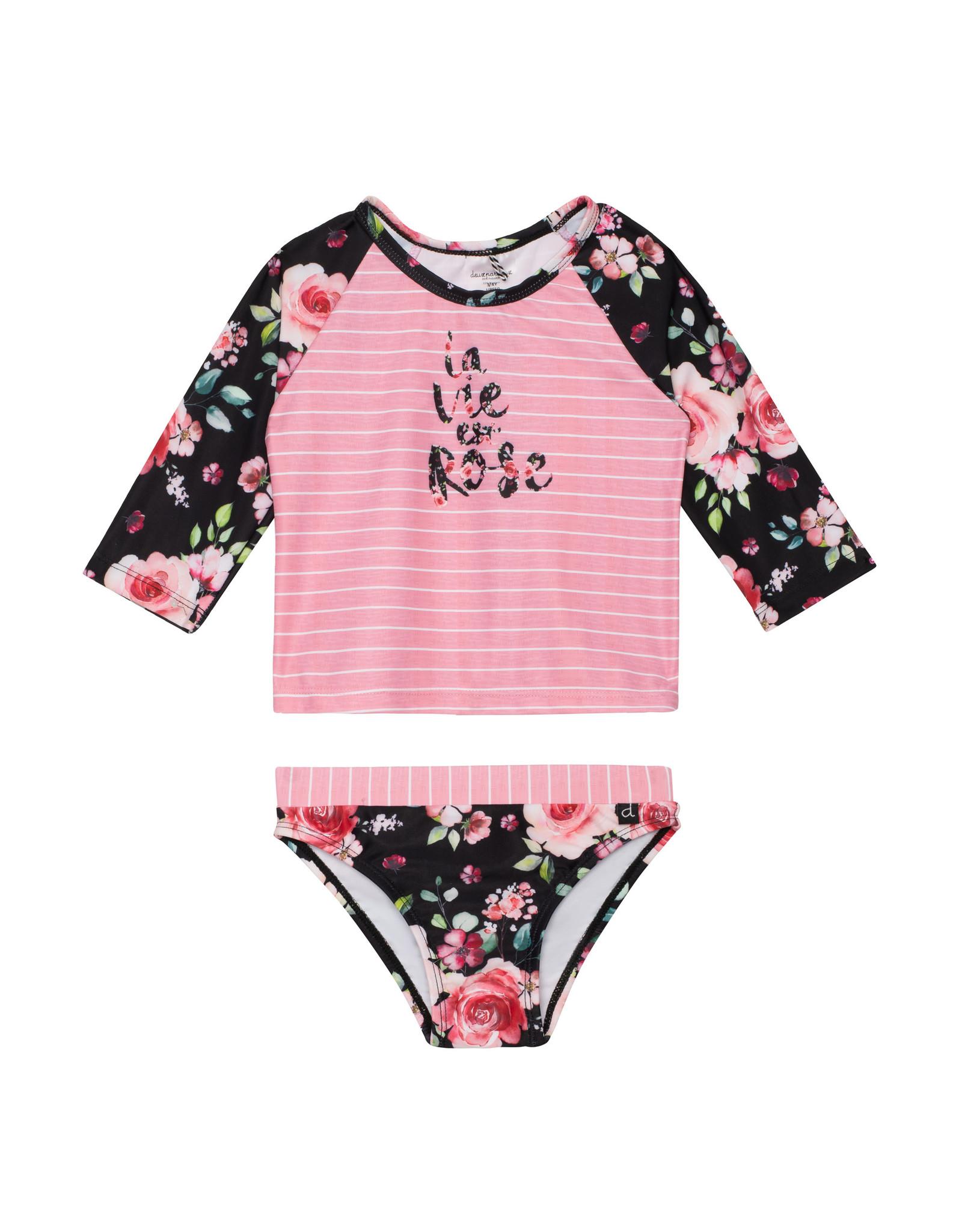 Deux Par Deux La Vie Est Rose Swimsuit