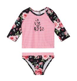 Deux Par Deux La Bie Est Rose Swimsuit