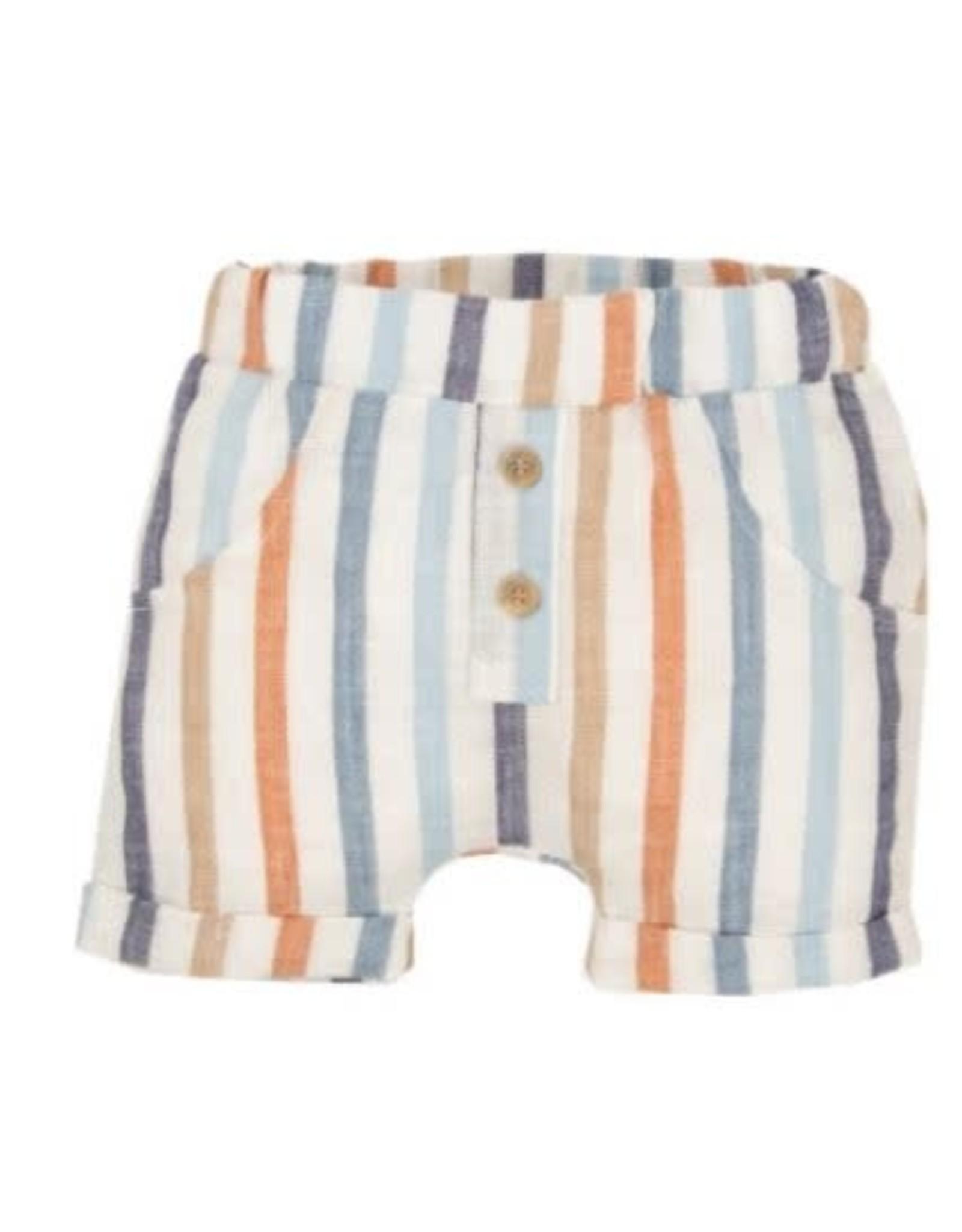 EMC Striped Linen Shorts