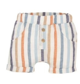 EMC Striped Linen Shorts