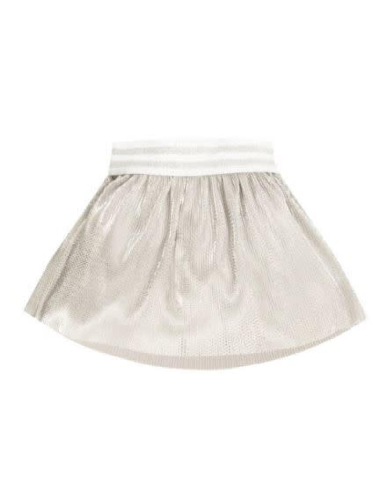 EMC Metallized Plisse Skirt