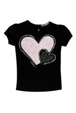 EMC Black Heart Short Sleeve Shirt
