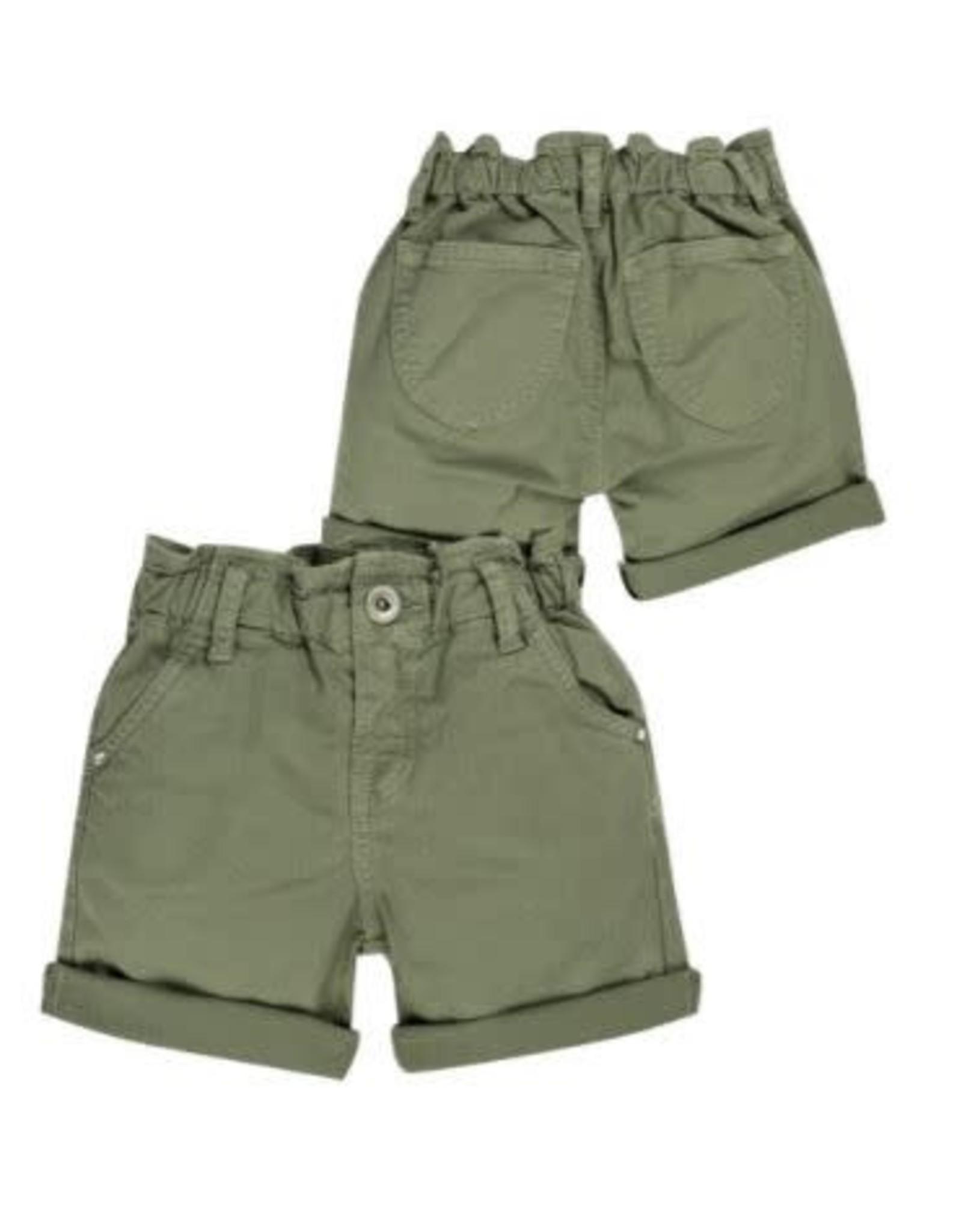 EMC Twill Stretch Shorts - Green