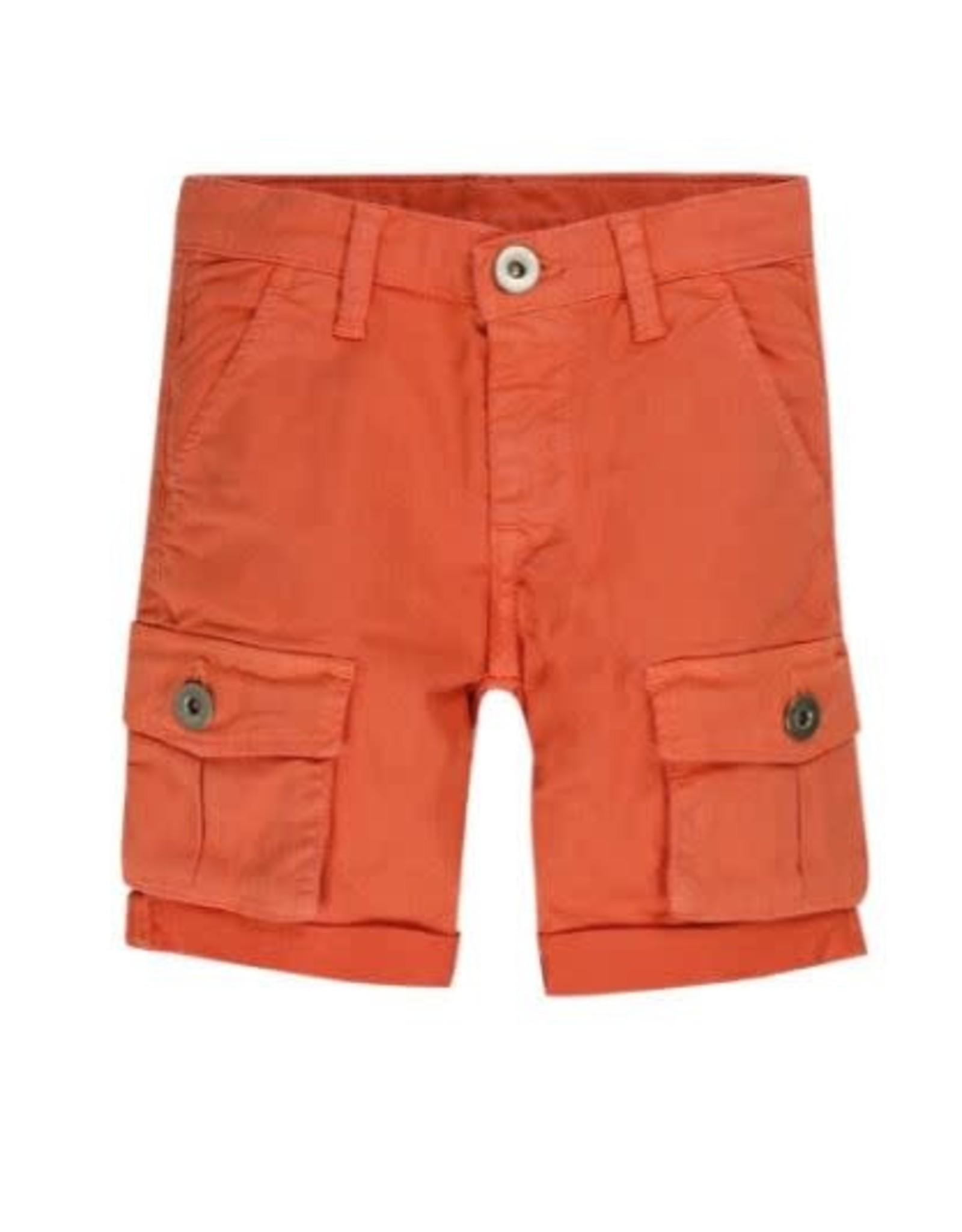 EMC Twill Stretch Shorts - Orange