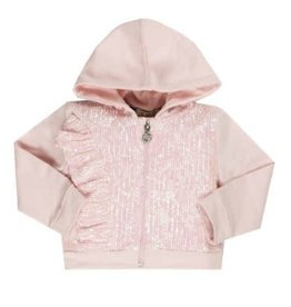 EMC Paillettes Zipped Hoodie