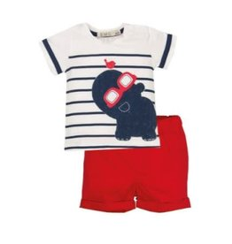 EMC T-Shirt with Red Shorts