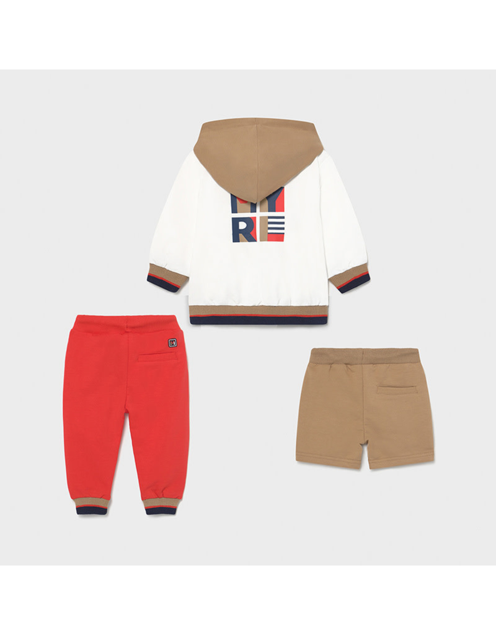 Mayoral 3 Piece Mixed Tracksuit