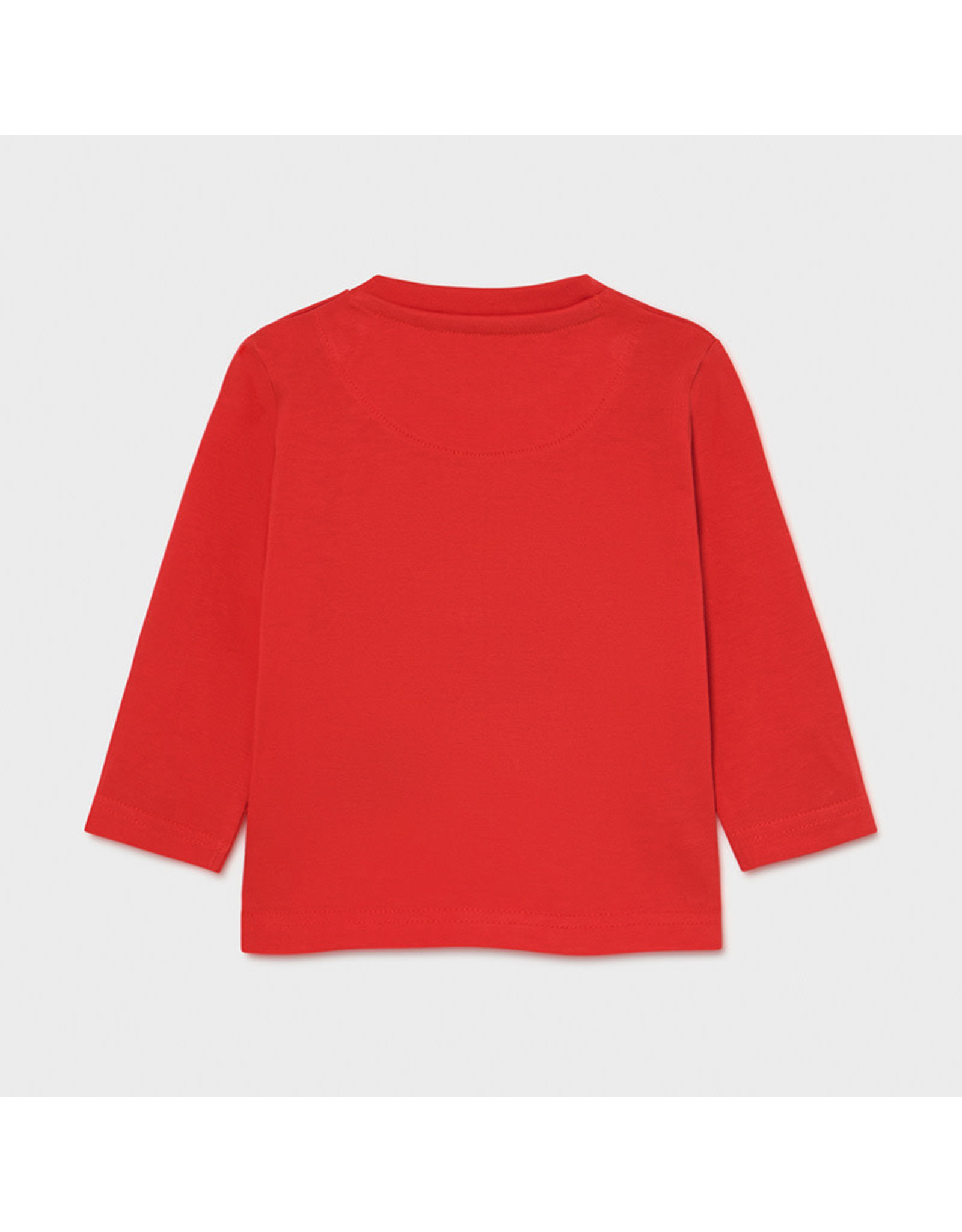 Mayoral Long Sleeve T-Shirt - Cyber Red