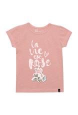 Deux Par Deux La Bie Est Rose Top with Print