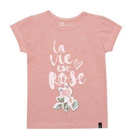 Deux Par Deux La Vie Est Rose Top with Print