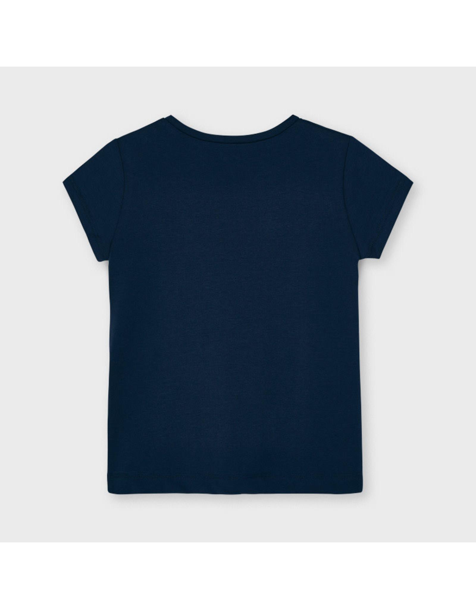 Mayoral Navy Bow T-Shirt