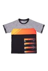 Noruk Athletic T-Shirt Grey/Orange/Black