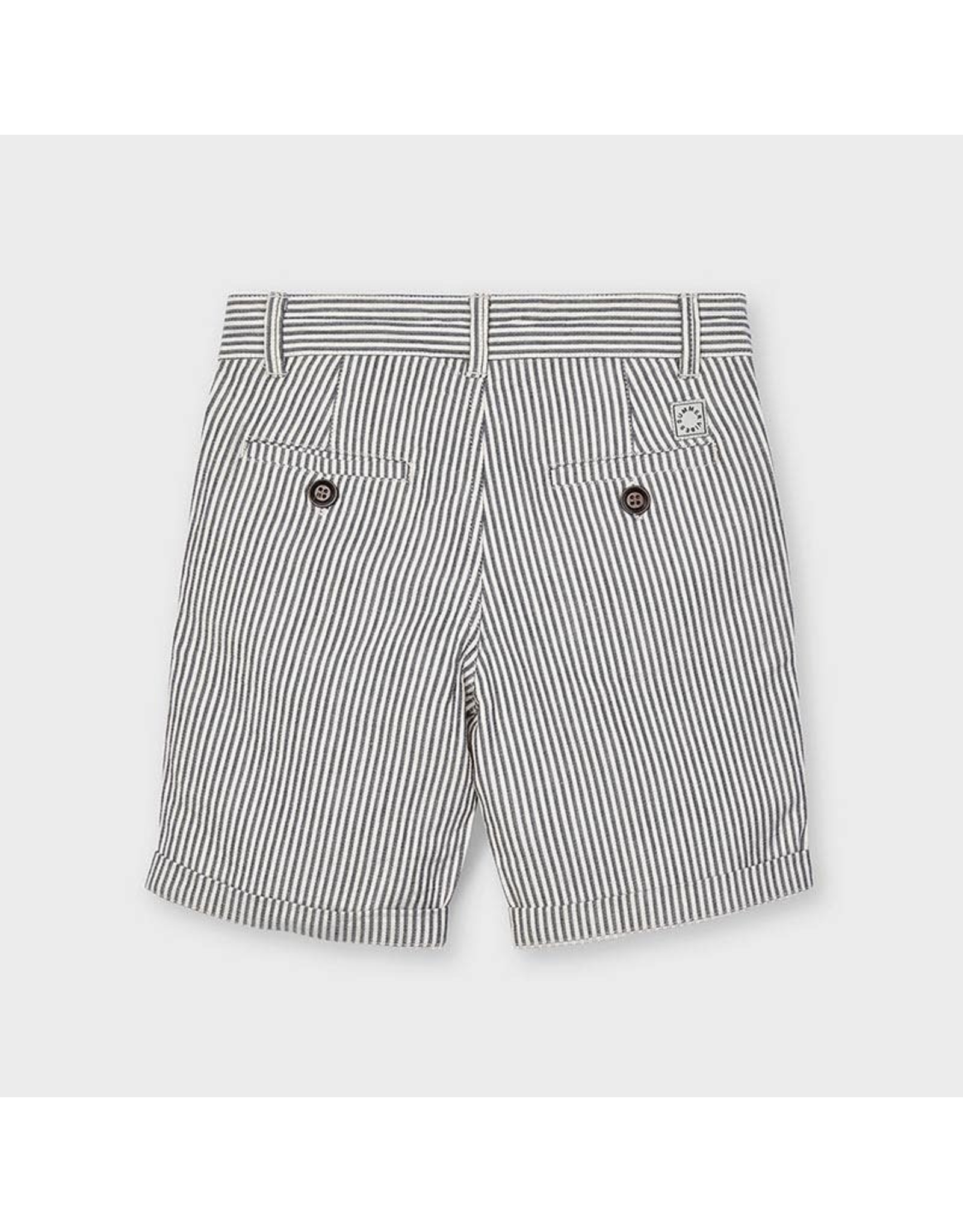 Mayoral Striped Bermuda Shorts