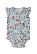 Loulou Lollipop Girls Bodysuit - Bluebell