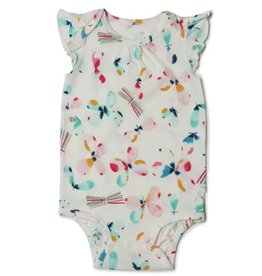 Loulou Lollipop Girls Bodysuit - Butterfly