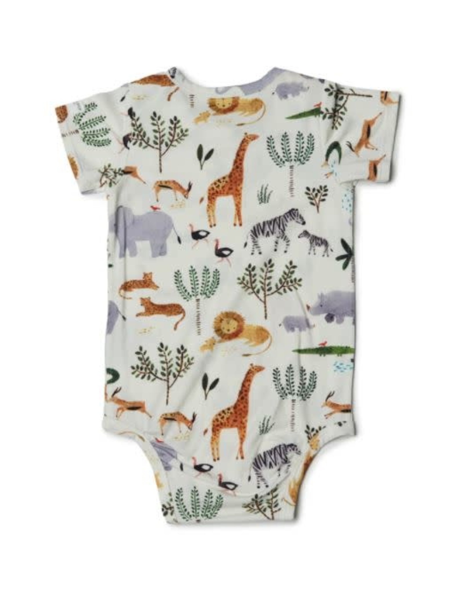 Loulou Lollipop Unisex Bodysuit - Safari Jungle