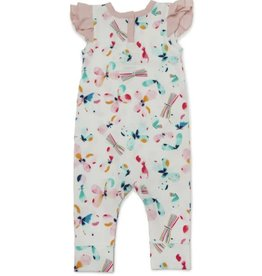 Loulou Lollipop Girls Romper - Butterfly