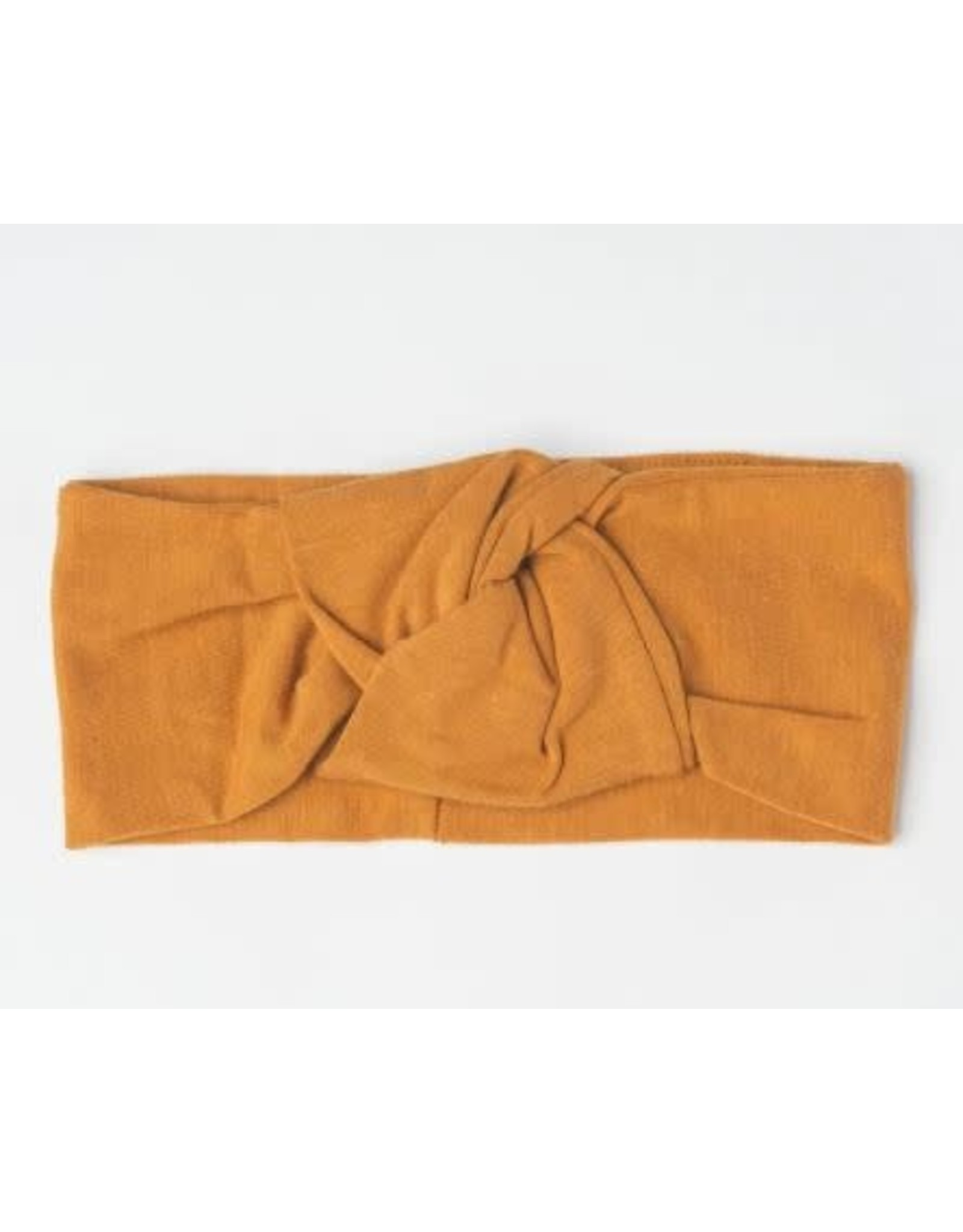 Loulou Lollipop Knotted Headband - Ginger Honey