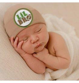 "ilybean Nursery Beanie - ""Lil Bro"" Brown"