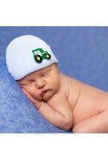 ilybean Nursery Beanie - Stripe with Tractor
