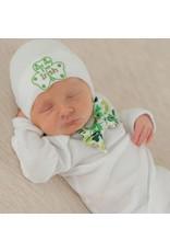 "ilybean Nursery Beanie - ""Kiss Me I'm Irish"""